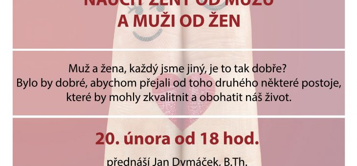 Video: Jan Dymáček – Co by se měli naučit ženy od mužů a muži od žen (pro své zdraví)