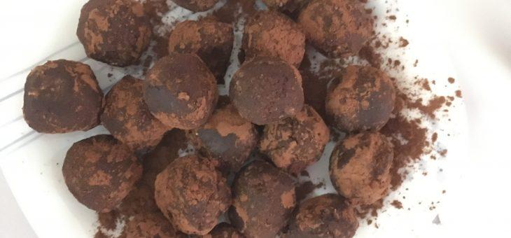 Datlovo-kokosové kuličky